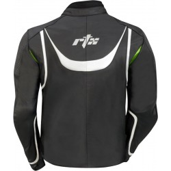 RTX Ninja Green Biker Leather Jacket