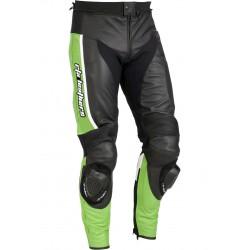 RTX Ninja Green Leather Biker Pant