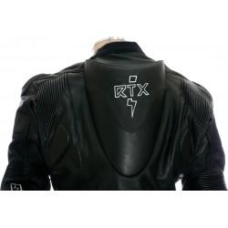 SALE - RTX Panther Black Sports Biker Race Leather Suit