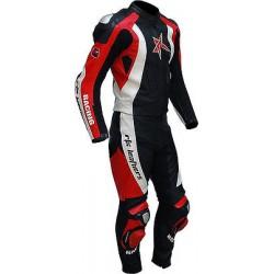 RTX Pro Evolution Sports Biker Motorcycle 2 Piece Leather Jacket Suit - 6 Colours