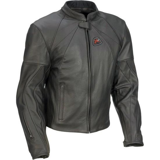 Pro Touring Elite Leather Motorcycle Jacket