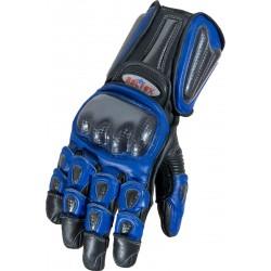 RTX Radon Elite Blue Biker Gloves
