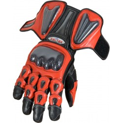 RTX Radon Elite Red Biker Gloves