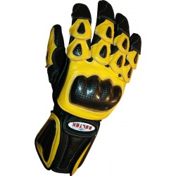 RTX Radon Elite Yellow Biker Gloves