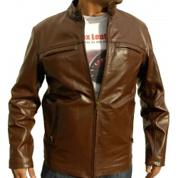 Ranger Brown Casual Leather Jacket