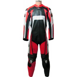 Raptor Red Motorbike Leather Suit
