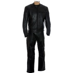 RTX Retro Classic Touring Two Piece Leather Suit