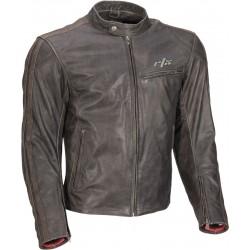 RTX Rustic Brown Touring Biker Jacket