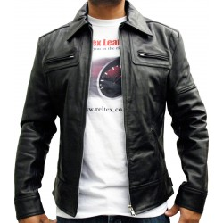 Logan Wolverine Genuine Brown Leather Jacket