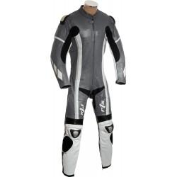 RTX Speedblock Grey Biker Leathers