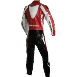 RTX Speedblock Red Biker Leathers