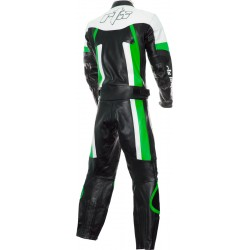 RTX Titan Green Motorcycle Leather Two Piece Suit