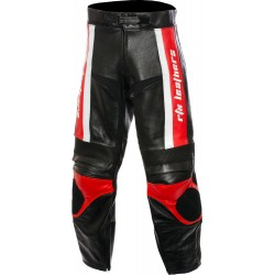RTX Titan Red Motorcycle Leather Trouser Pant