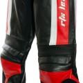 RTX Titan Red Leather Biker Trouser