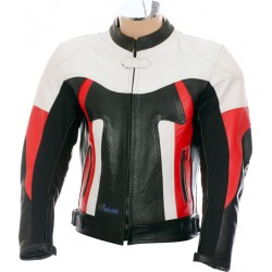 RTX Titan Red Motorcycle Leather Jacket