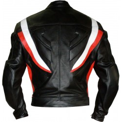 RTX Transformers Red Pro Biker Motorcycle Jacket