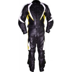 RTX Transformer Yellow Leather Motorcycle Suit