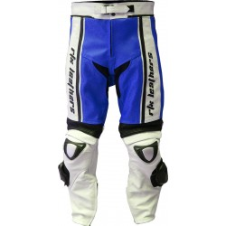 RTX X1 Supersport Touring Blue Leather Trouser Pant