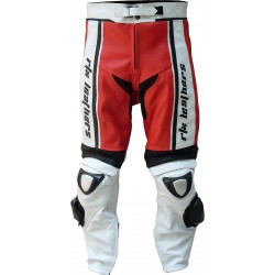 RTX X1 Supersport Touring Red Leather Trouser Pant