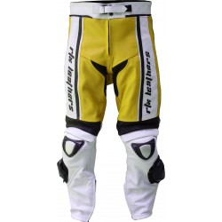 RTX X1 Supersport Touring Yellow Leather Trouser Pant