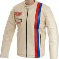 Steve McQueen Cream Heuer Jacket