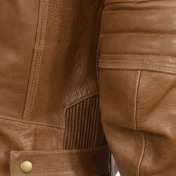 RTX Roadster Heritage Brown Leather Jacket