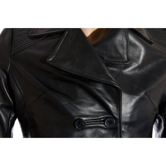 Ladies Windsor Black Leather Jacket